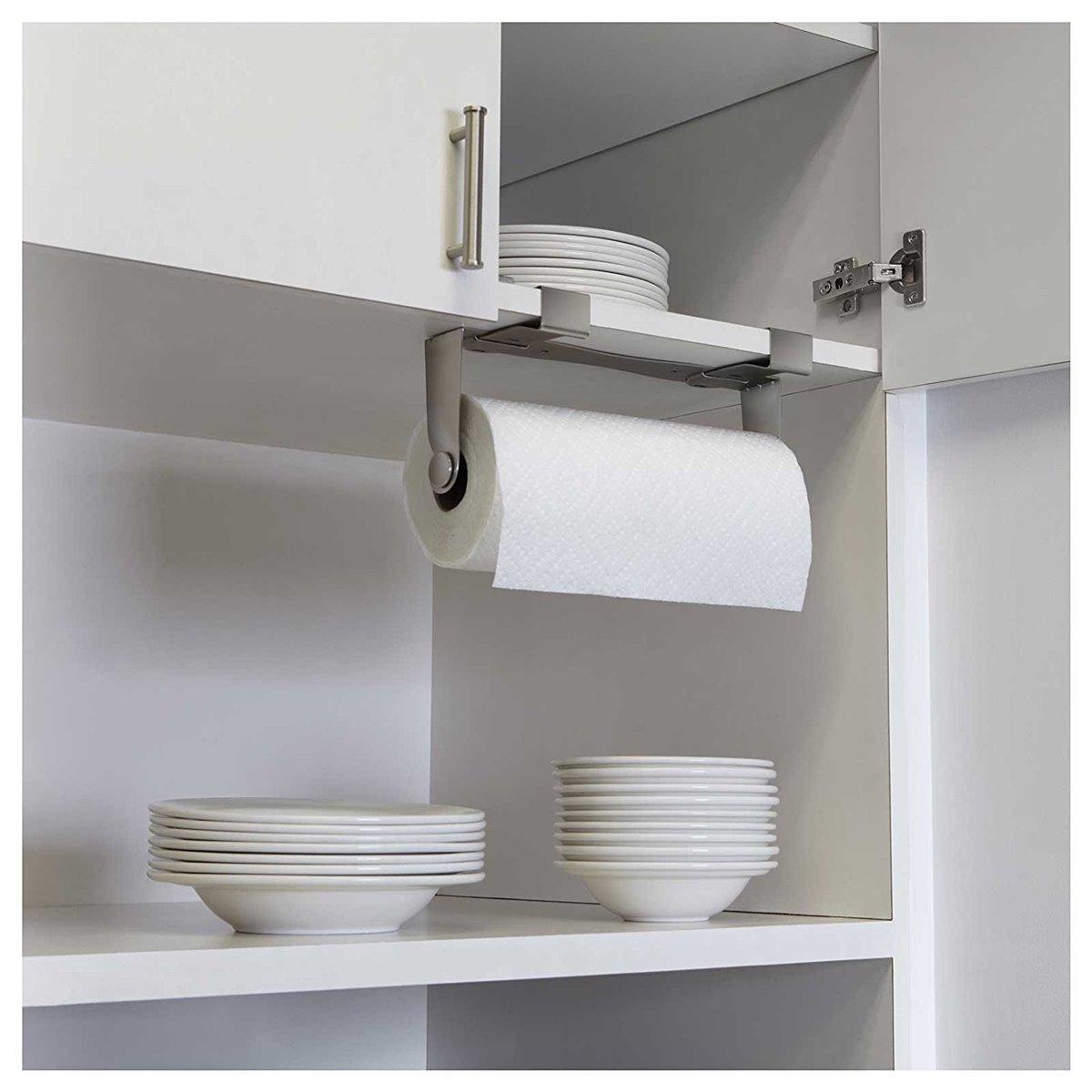 Küchenpapierhalter Wand ~ küchenrollenhalter küchenpapierhalter mountie nickel länge 30,5 cm ebay