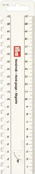 Handmaß 21 cm