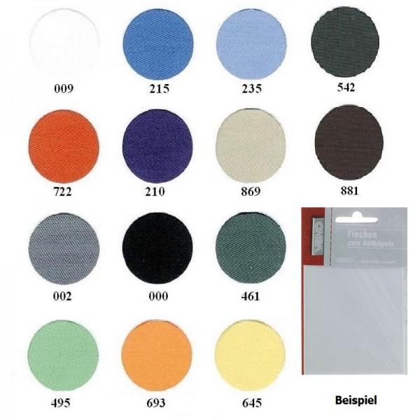 Körper-Flickstoff 11,5 x 40 cm in 14 Farben