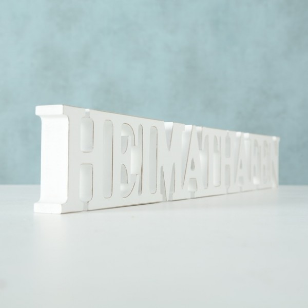 Aufsteller Schriftzug Heimathafen Zuhause Heim Länge 60 cm