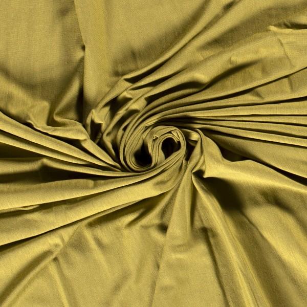 Bambus Jersey olivgrün 0,5 Meter