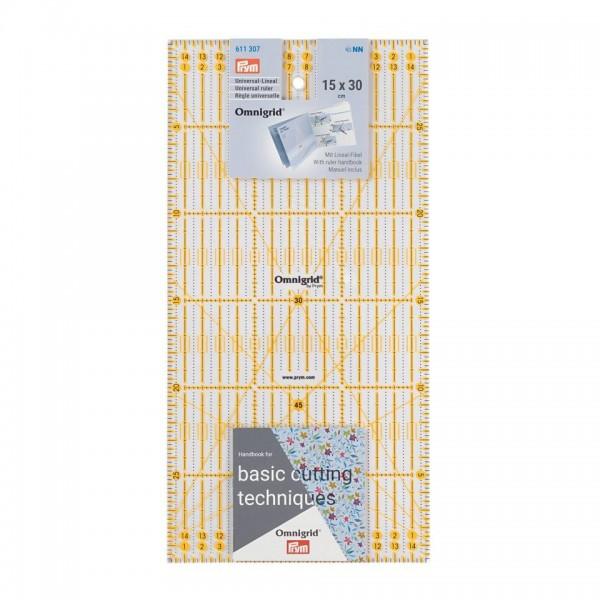 Lineal-Omnigrid-Prym 15x30cm