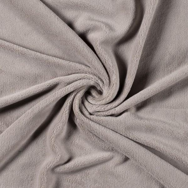 Wellness-Fleece beige super weich Kuschelfleece 0,5 m