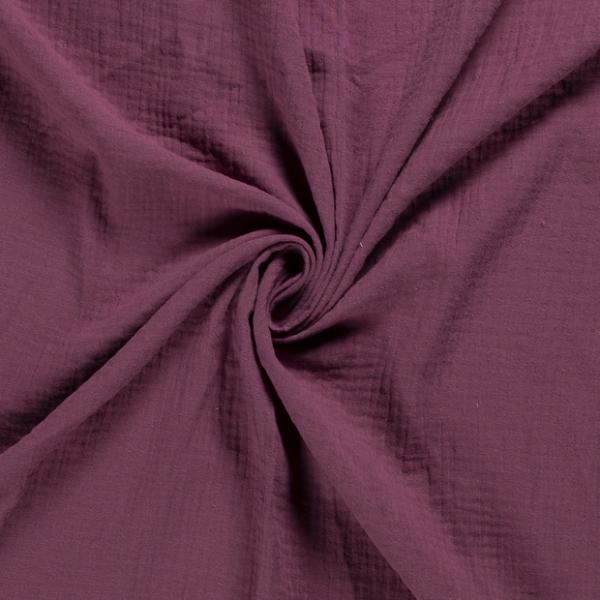 Musselin Baumwolle für Schals Tücher, Babybekleidung Kinderbekleidung 0,5 Meter