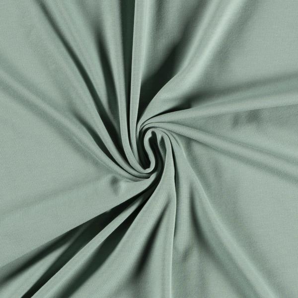 Bio Jersey mintgrün 0,5 Meter Organic