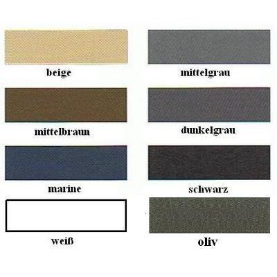 Hosenschonerband 16 mm breit in 8 Farben 100 % PES