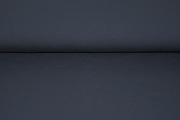 Jersey uni dunkelgrau Baumwolljersey 0,5 Meter