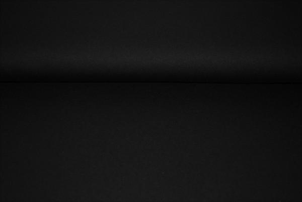 Viskosejersey Jersey uni schwarz 0,5 Meter