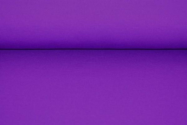Jersey uni violett Baumwolljersey 0,5 Meter