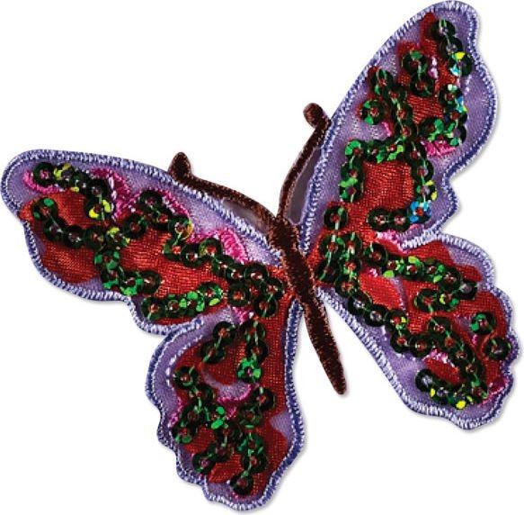 Schmetterling mit Pailletten