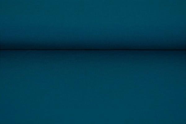 Jersey uni dunkel petrol Baumwolljersey 0,5 Meter