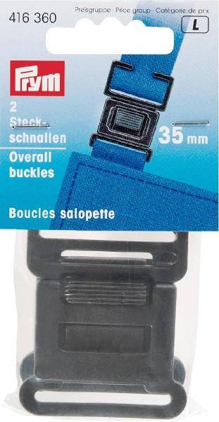 Steckschnallen für Latzhosen 35 mm