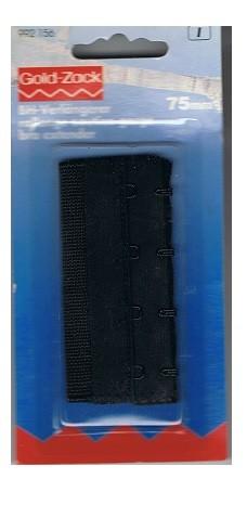 BH-Verlängerer 75 mm schwarz