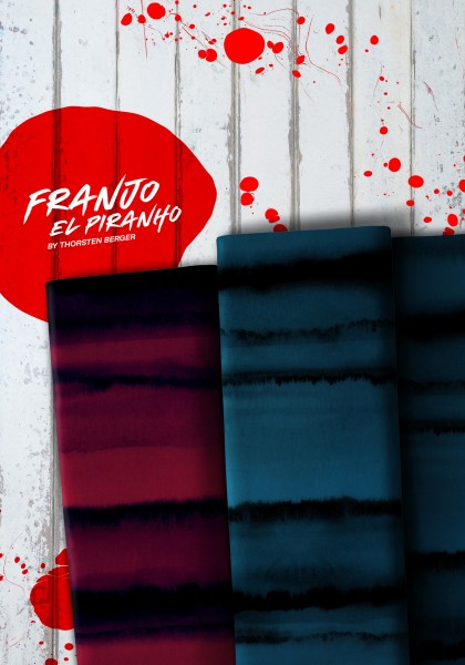 Kombijersey Franjo El Piranho rot oder blau