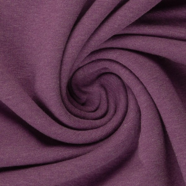 Jersey lila meliert Baumwolljersey 0,5 Meter